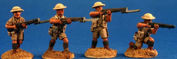 British Desert Infantry