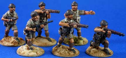 LRDG/SAS/Commandos with wool caps