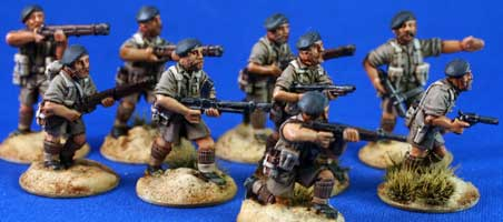 LRDG/SAS/Commandos with berets