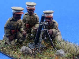 Ethiopian Imperial Guard Mortar Crew