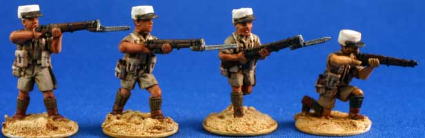 Free French Foreign Legion Infantry