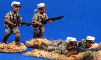 Free French Foreign Legion Bren teams