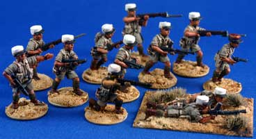 Free French Foreign Legion squad