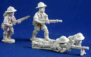 Free French Marine Bren teams