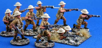 Free French Marine Infantry squad