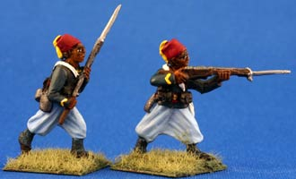 Senegalese Tirailleur Infantry