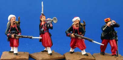 Zouaves, advancing (Unit Pack)