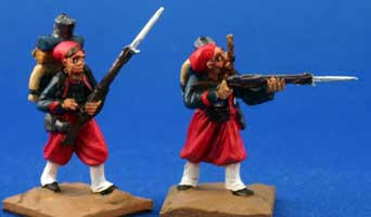 Zouaves and Tirailleurs