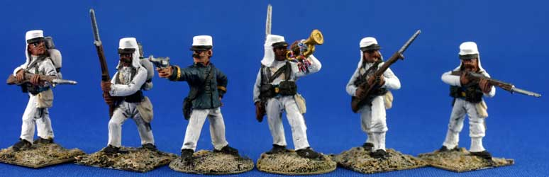 Foreign Legion or Joyeux, white campaign uniform (Unit Pack)