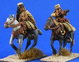 Foreign Legion Cavalry in covered kepis