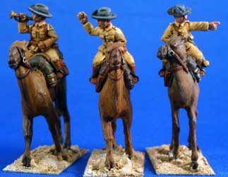 German Camel Mounted Schutztruppe Command
