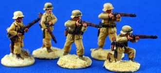 German Afrika Korps Rifle team