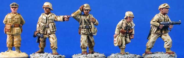 German Afrika Korps Command team