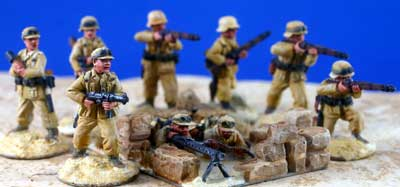 German Afrika Korps Rifle squad