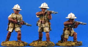 Italian Infantry in shorts
