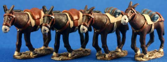 German Limber Mules
