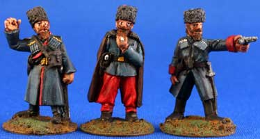 Caucasian Cossack Officers - Click Image to Close