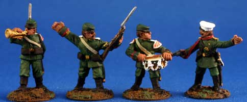 Russian Infantry in Kepis - Command