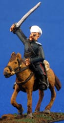 Don Cossack Cavalry with swords