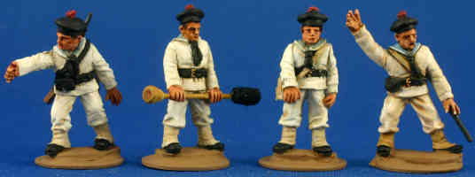 French Naval Artillery Crew (Shore duty)
