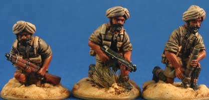 Sikh Bren teams firing