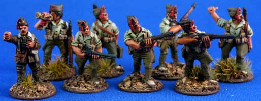 Spanish Foreign Legion Unit Pack in Isabelino
