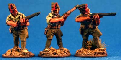 Spanish Foreign Legion Riflemen in Isabelino - Click Image to Close