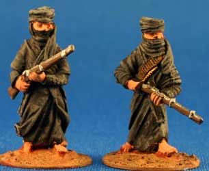 Tuaregs with rifles