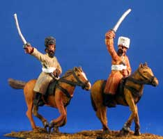 Turcomen Cavalry with swords