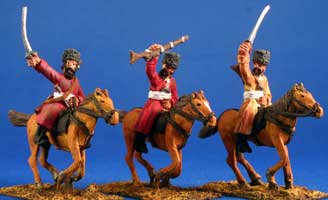 Turcomen Cavalry with muskets - Click Image to Close