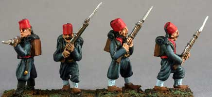Turkish Infantry 1877