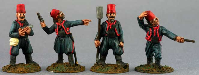 Turkish Artillery Crew