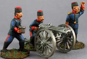 Turkish Gatling Crew