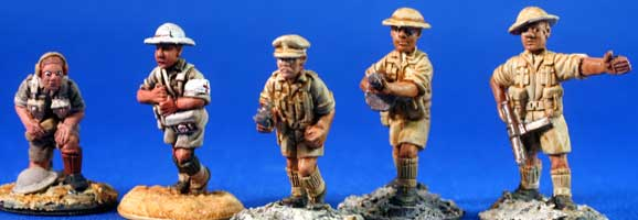 British Desert Infantry command